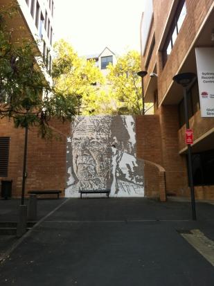 The Rocks street art