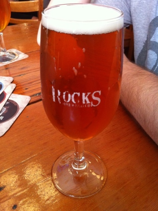 A burr from Harts Pub, The Rocks