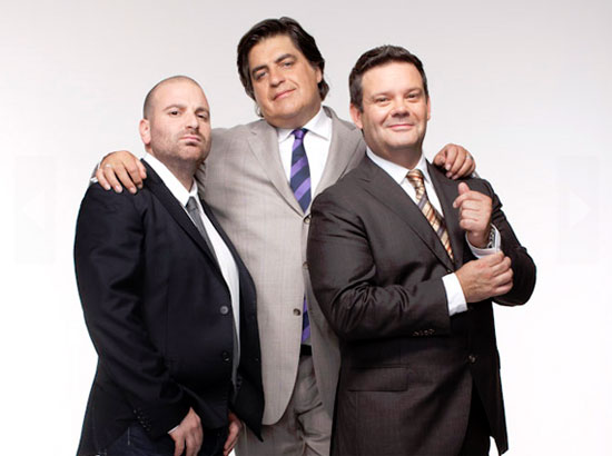MasterChef Judges - Gary Mehigan, Matt Preston and George Calombaris